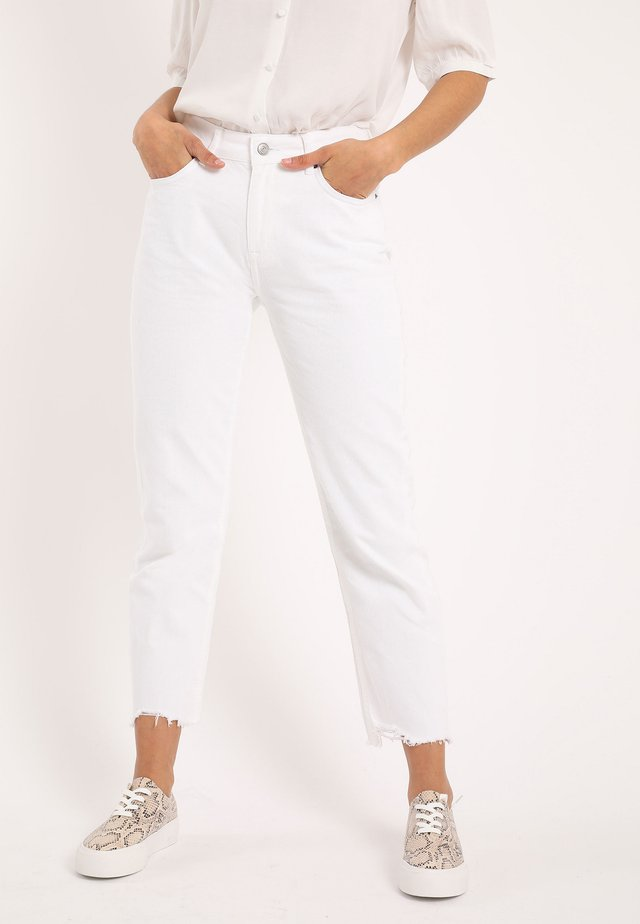 Straight leg jeans - naturweiß