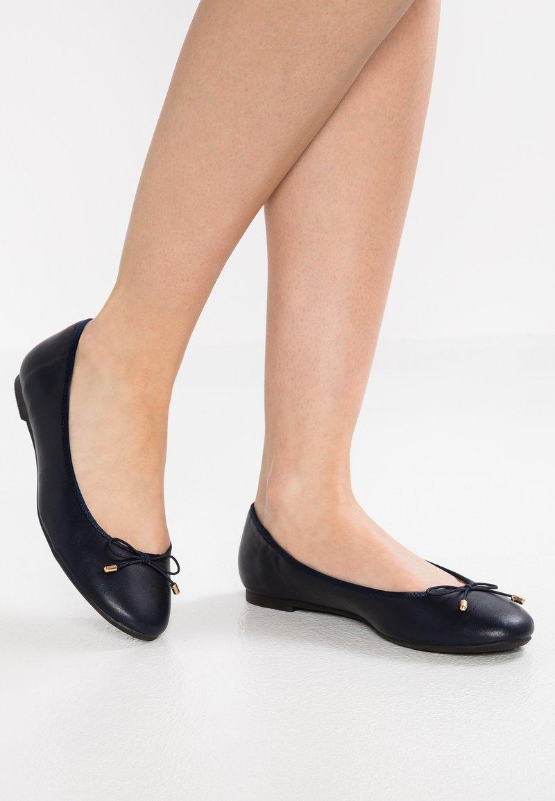 PARFOIS - Ballet pumps - navy