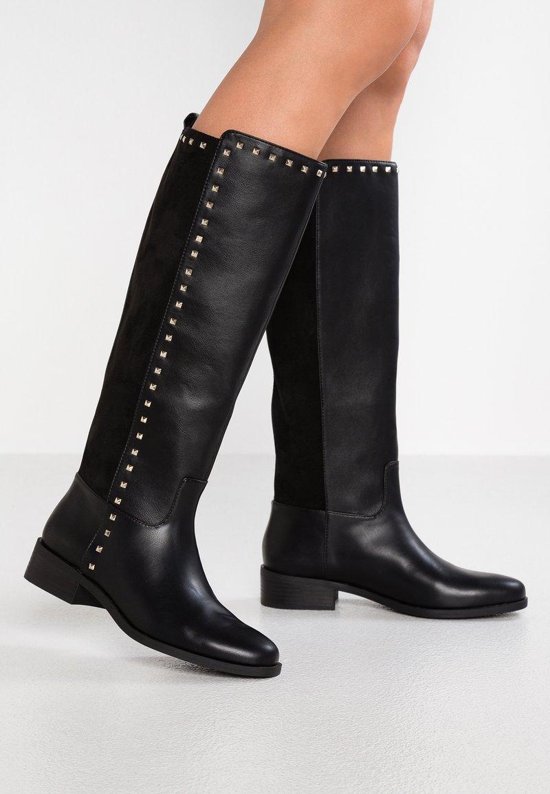 PARFOIS - Stivali alti - black