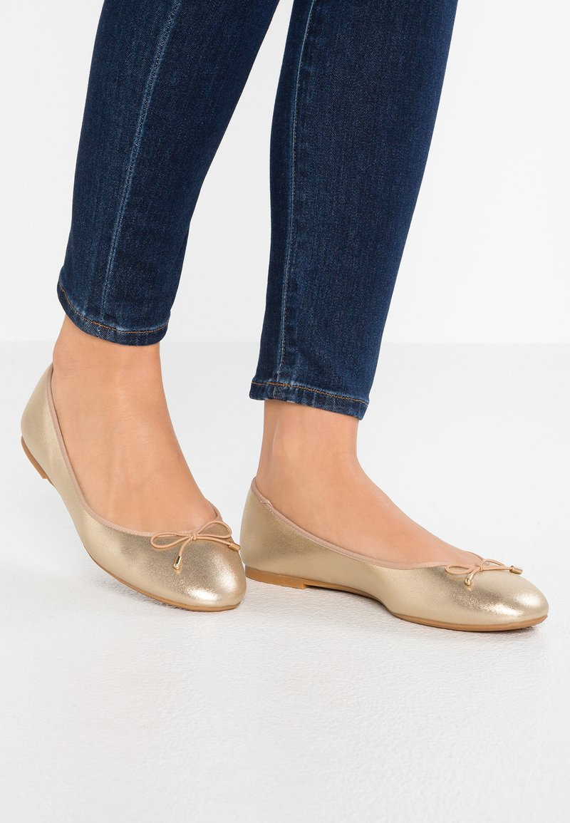 PARFOIS - Ballet pumps - gold