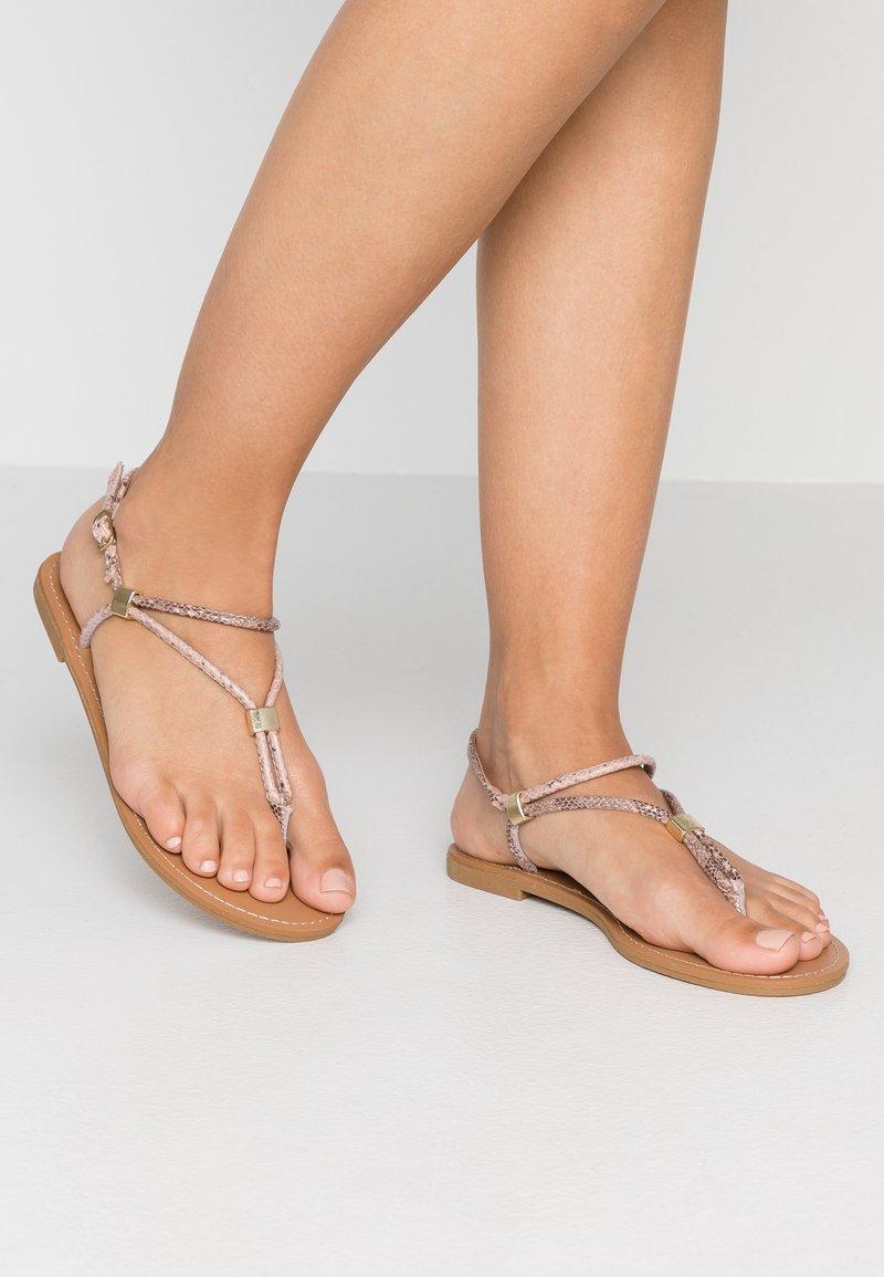 PARFOIS - Sandalias de dedo - beige