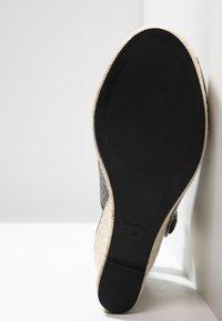 PARFOIS - Højhælede sandaletter / Højhælede sandaler - khaki - 6