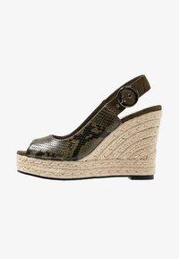 PARFOIS - Højhælede sandaletter / Højhælede sandaler - khaki - 1