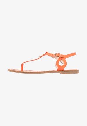 T-bar sandals - orange