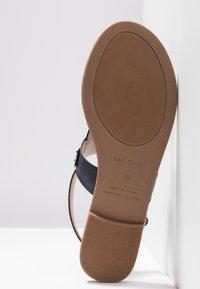 PARFOIS - Sandály s odděleným palcem - dark navy - 6