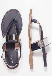 PARFOIS - Sandály s odděleným palcem - dark navy - 3
