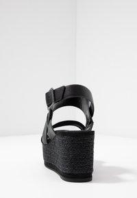 PARFOIS - Sandály na platformě - black - 5