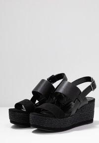 PARFOIS - Sandály na platformě - black - 4