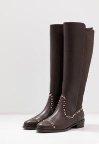 PARFOIS - Høje støvler/ Støvler - brown - 4
