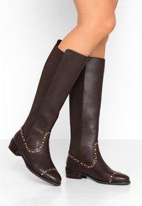 PARFOIS - Høje støvler/ Støvler - brown - 0