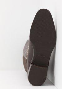 PARFOIS - Høje støvler/ Støvler - brown - 6
