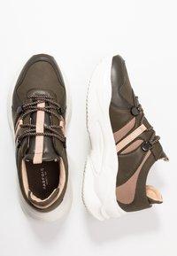 PARFOIS - Sneakers - khaki - 3