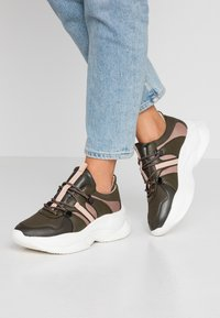 PARFOIS - Sneakers - khaki - 0