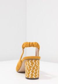 PARFOIS - Pumps - mustard - 5