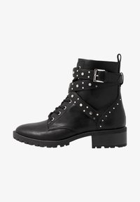 PARFOIS - Cowboy- / bikerstøvlette - black - 1