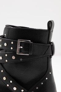 PARFOIS - Cowboy- / bikerstøvlette - black - 2