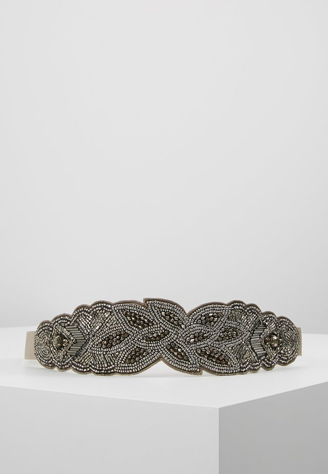 Pásek - silver-coloured