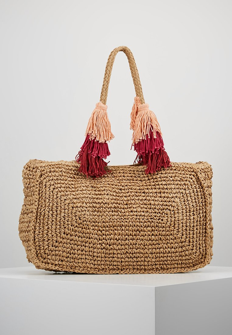 PARFOIS - Bolso shopping - natural