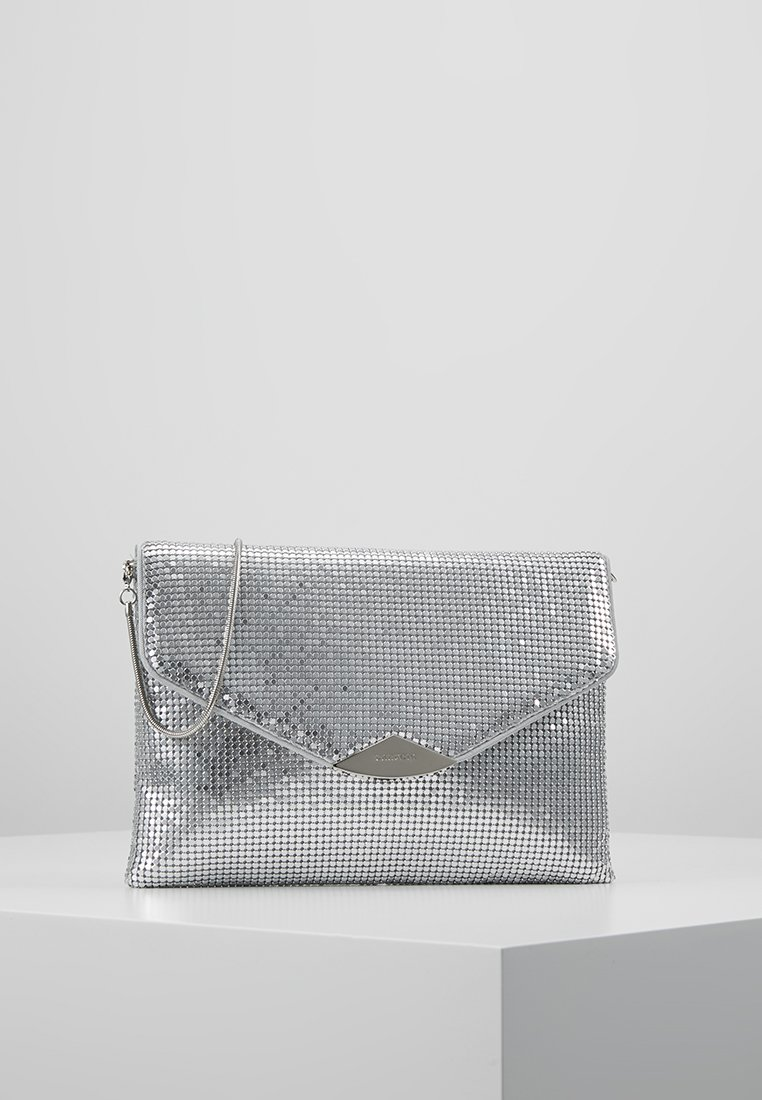 PARFOIS - Clutch - silver-coloured