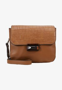 PARFOIS - Across body bag - camel - 5