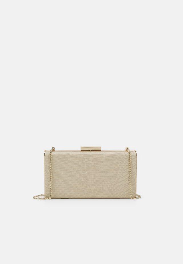 BOX BAG  - Clutch - beige