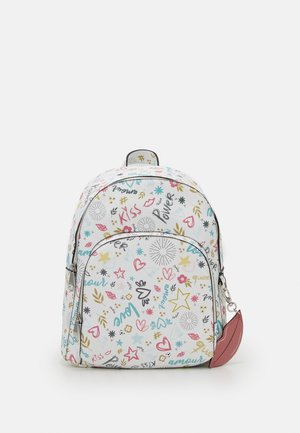 BACKPACK LOVE  - Tagesrucksack - white