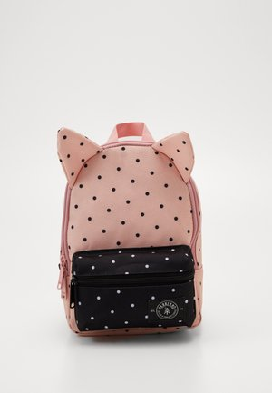 LITTLE MONSTER - Rucksack - light pink/dark blue