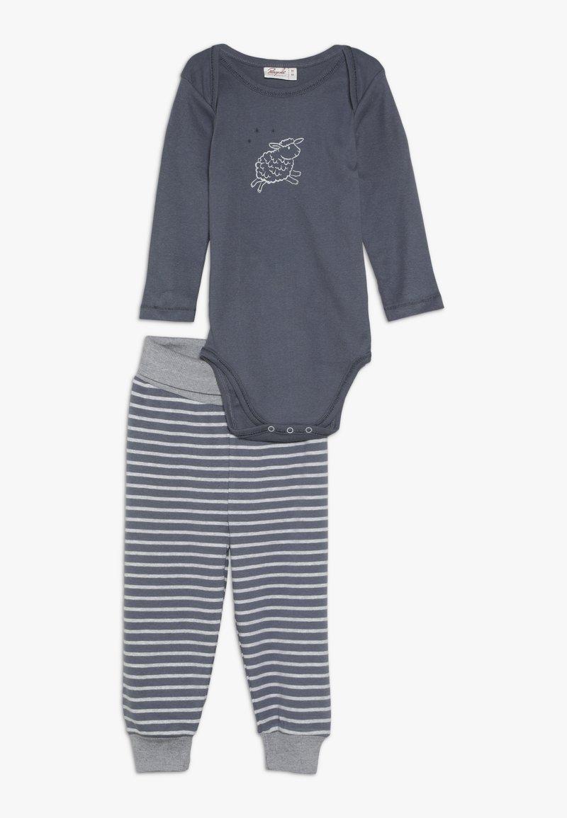 People Wear Organic - BABY - Kalhoty - dunkelgrau