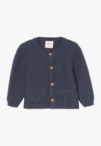 People Wear Organic - BABY - Gilet - jeansblau mélange - 0