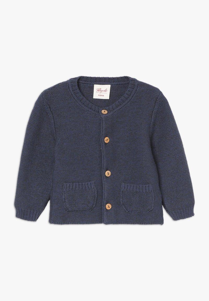 People Wear Organic - BABY - Gilet - jeansblau mélange