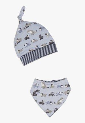 BABY SET - Bonnet - hellblau