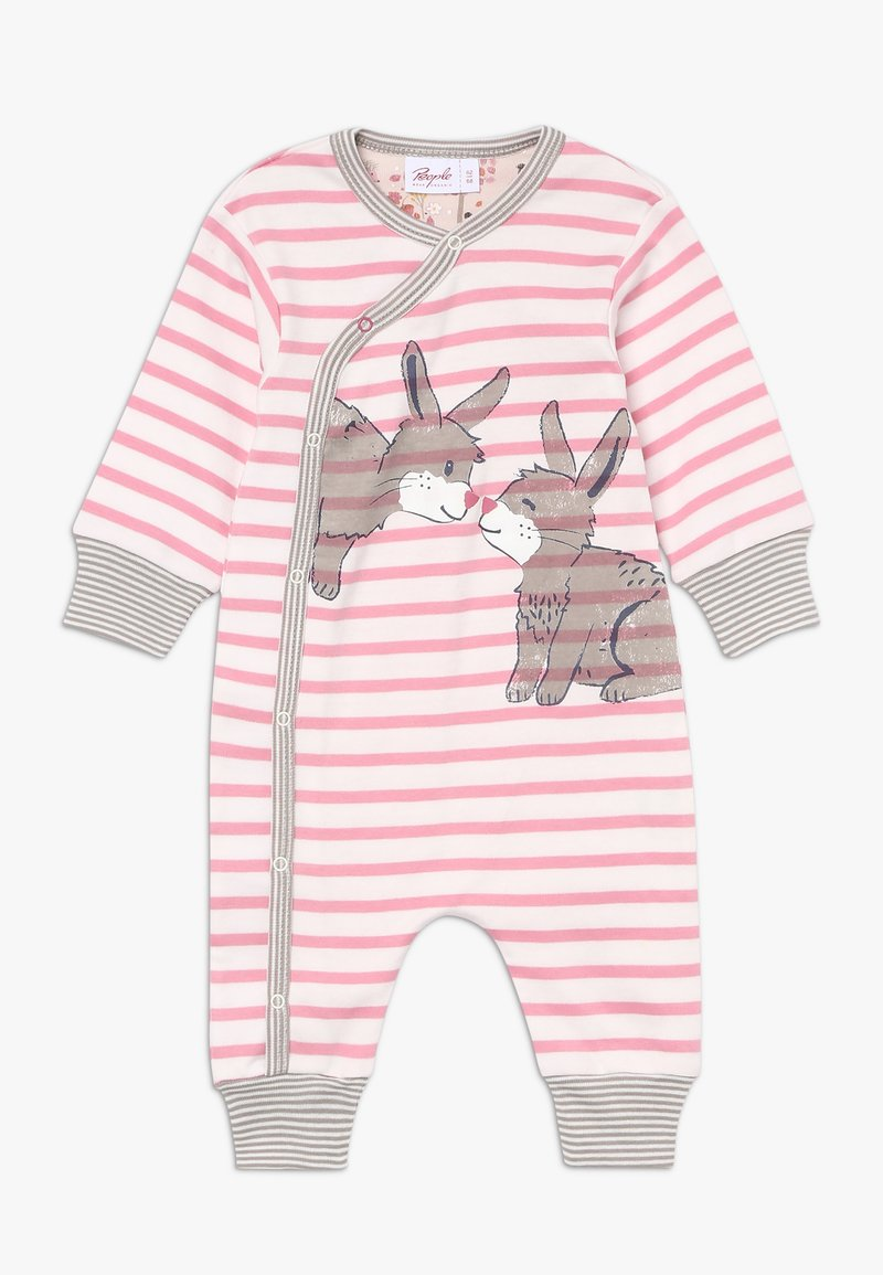 People Wear Organic - WICKELOVERALL BABY - Pyjama - pink