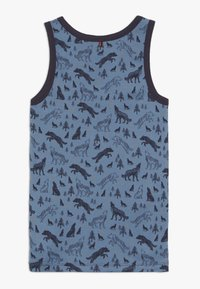 People Wear Organic - 2 PACK - Undershirt - dunkelblau/blau - 1