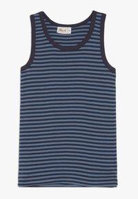 People Wear Organic - 2 PACK - Undershirt - dunkelblau/blau - 2