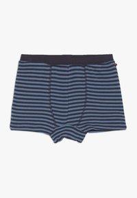 People Wear Organic - BOXERSHORTS 2 PACK - Pants - blau/dunkelblau - 2