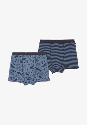 BOXERSHORTS 2 PACK - Panties - blau/dunkelblau