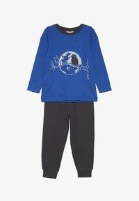 People Wear Organic - Pyjama set - royalblau - 3