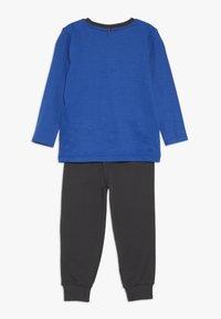 People Wear Organic - Pyjama set - royalblau - 1