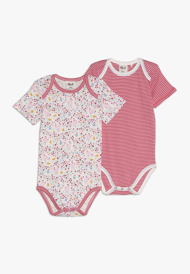 People Wear Organic - BABY 2 PACK - Body - red