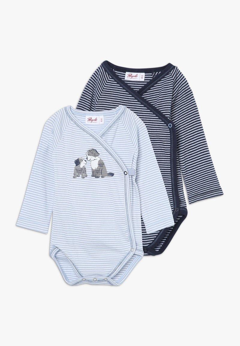 People Wear Organic - BABY 2 PACK - Body - dunkelblau