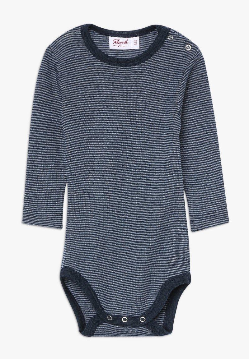 People Wear Organic - BABY - Body - dunkelblau