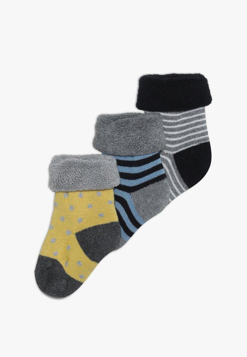 People Wear Organic - BABY 3 PACK - Ponožky - dunkelblau