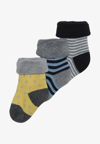 People Wear Organic - BABY 3 PACK - Ponožky - dunkelblau - 3
