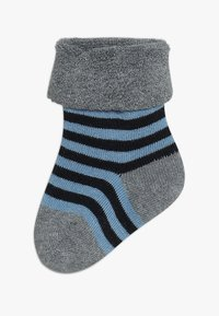 People Wear Organic - BABY 3 PACK - Ponožky - dunkelblau - 1