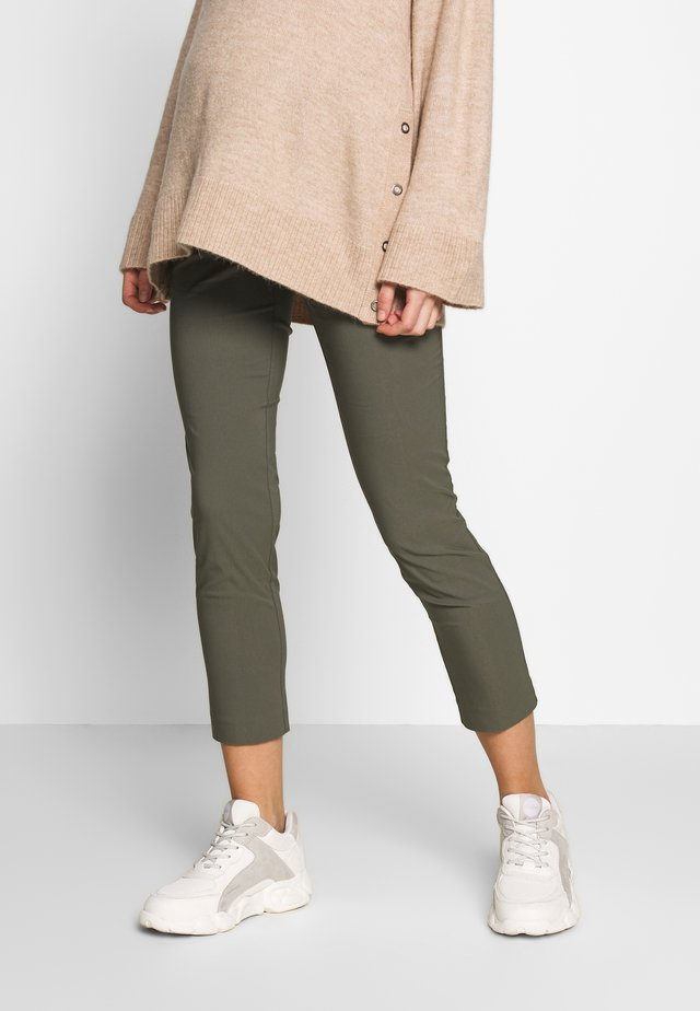 ELWOOD - Trousers - grape leaf