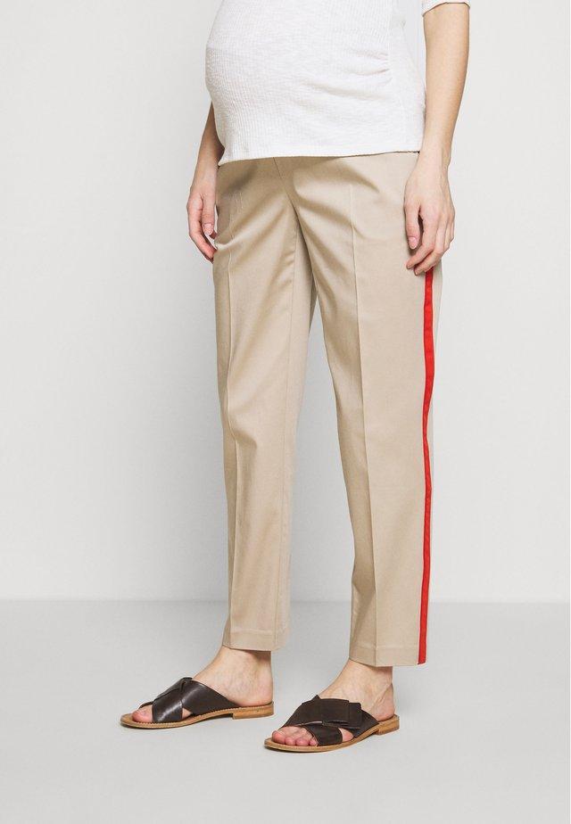 ELWIN - Trousers - desert