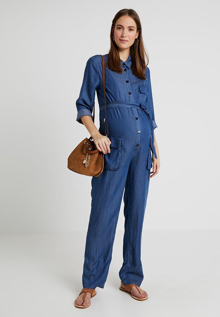 Pietro Brunelli - AMELIA - Combinaison - jeans blue
