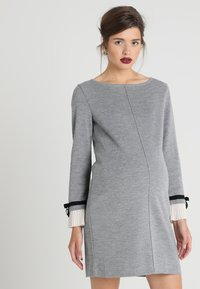 Pietro Brunelli - MAINFIELD - Stickad klänning - light grey melange - 0