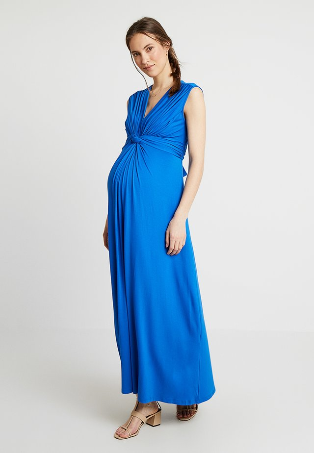 PAPAVER NURSING - Maxi dress - blue pacific