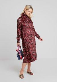 Pietro Brunelli - AUDREY - Day dress - red - 1